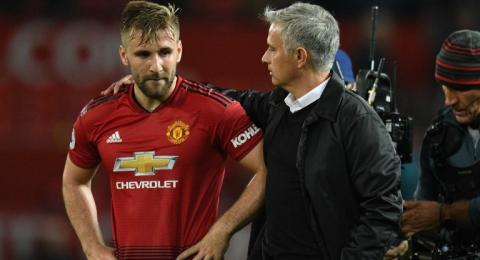Luke Shaw Tidak Berpikir untuk Meninggalkan MU Walau Dikritik Jose Mourinho Secara Langsung